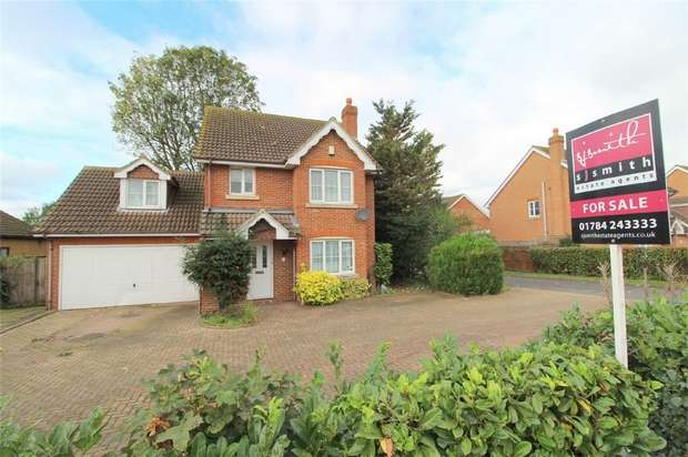 4 Bedrooms Detached House for sale in Meadhurst Park, Sunbury-On-Thames, Middlesex
