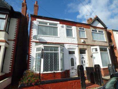 3 Bedrooms Semi Detached House for sale in Rosedale Avenue, Crosby, Liverpool, Merseyside, L23