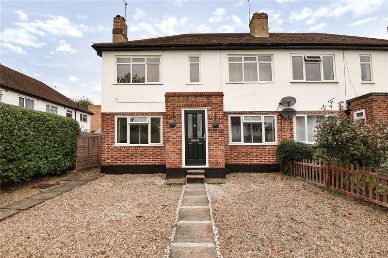2 Bedrooms Maisonette Flat for sale in Audley Court, Pinner, Middlesex, HA5