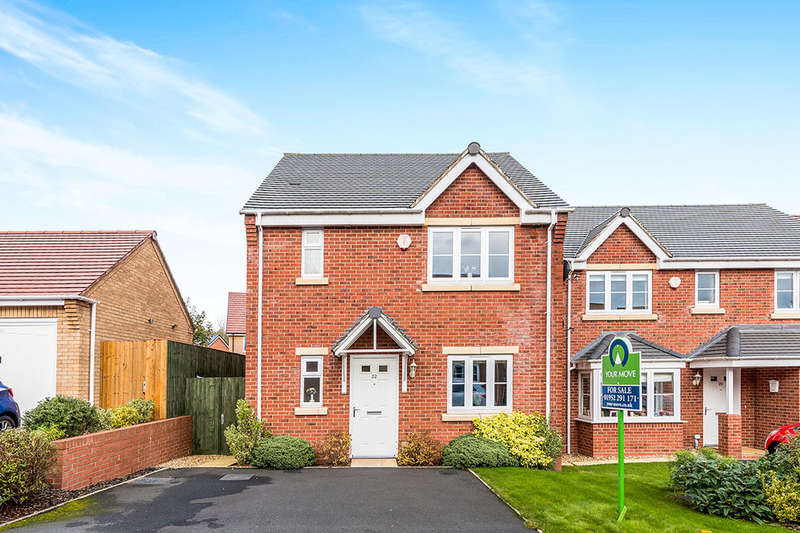 3 Bedrooms Detached House for sale in Priory Way, St. Georges, Telford, TF2