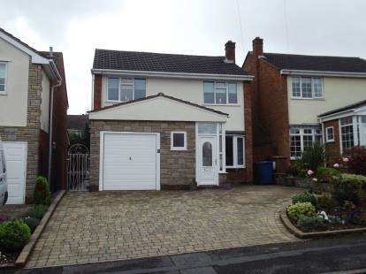 3 Bedrooms Detached House for sale in Garrick Rise, Burntwood