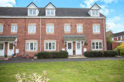 4 Bedrooms Terraced House for sale in Carnation Way, Nuneaton, Warwickshire