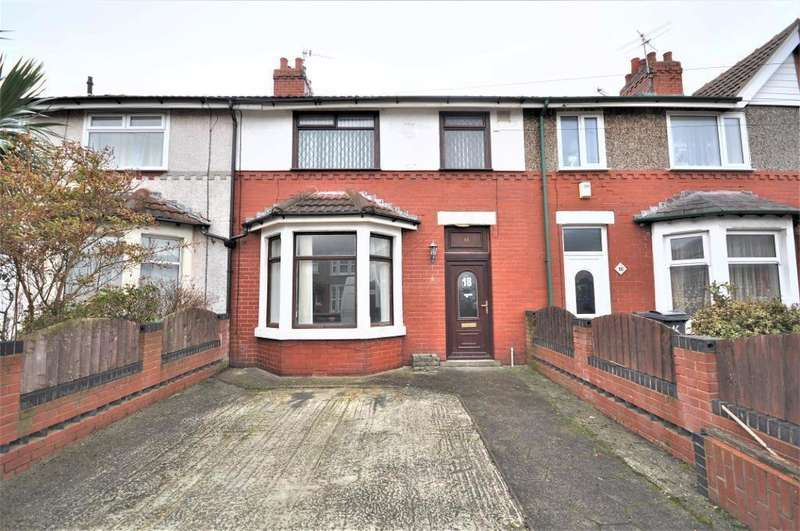 3 Bedrooms Terraced House for sale in Ribble Road, Fleetwood, Lancashire, FY7 7BU
