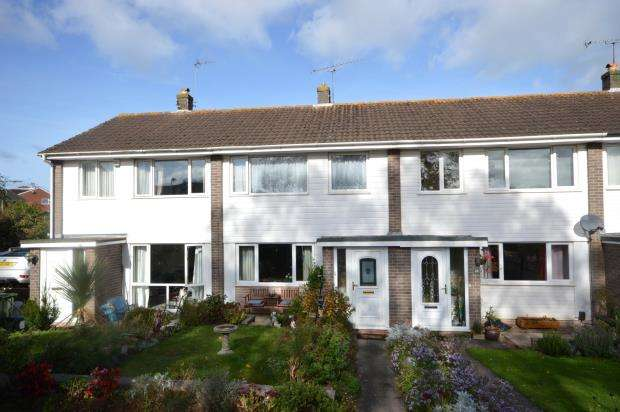 3 Bedrooms Terraced House for sale in Sycamore Close, Heavitree, Exeter, Devon