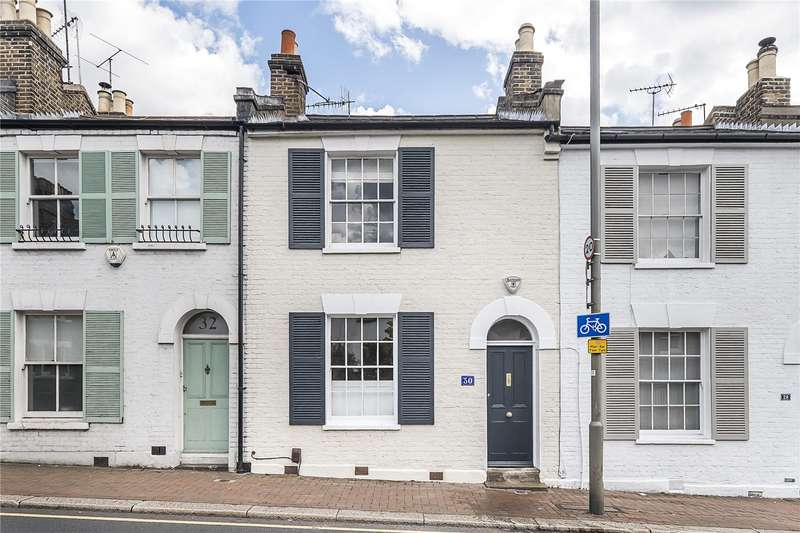 2 Bedrooms Terraced House for sale in Medfield Street, London, SW15