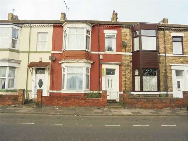 4 Bedrooms Terraced House for sale in Coatham Road, Redcar, North Yorkshire