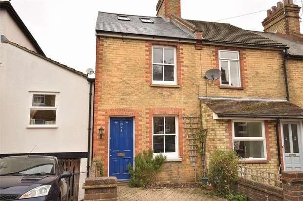 3 Bedrooms End Of Terrace House for sale in Sandy Lane, Sevenoaks, Kent