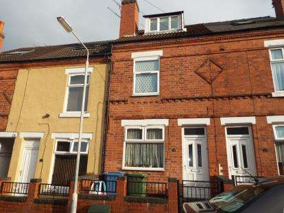3 Bedrooms Terraced House for sale in Bentinck Street, Mansfield, Nottinghamshire