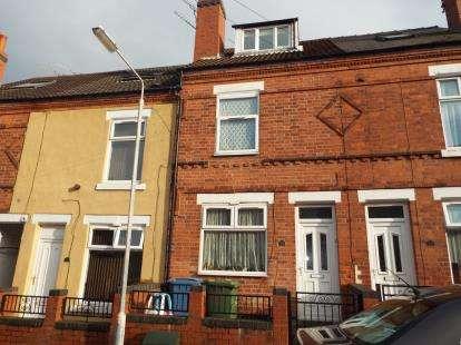3 Bedrooms Terraced House for sale in Bentinck Street, Mansfield, Nottinghamshire