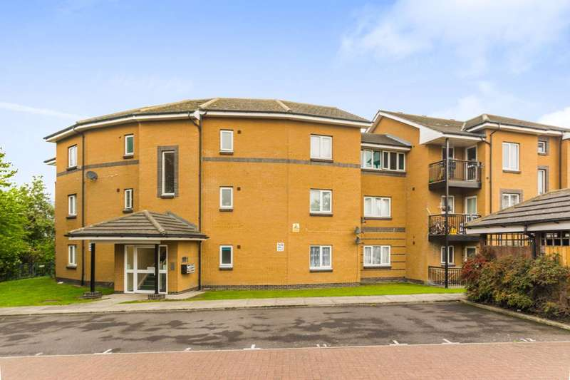 2 Bedrooms Flat for sale in Poseidon Court, Thames, IG11