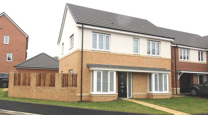 3 Bedrooms Detached House for sale in Strother Way, Bassington Manor, Cramlington