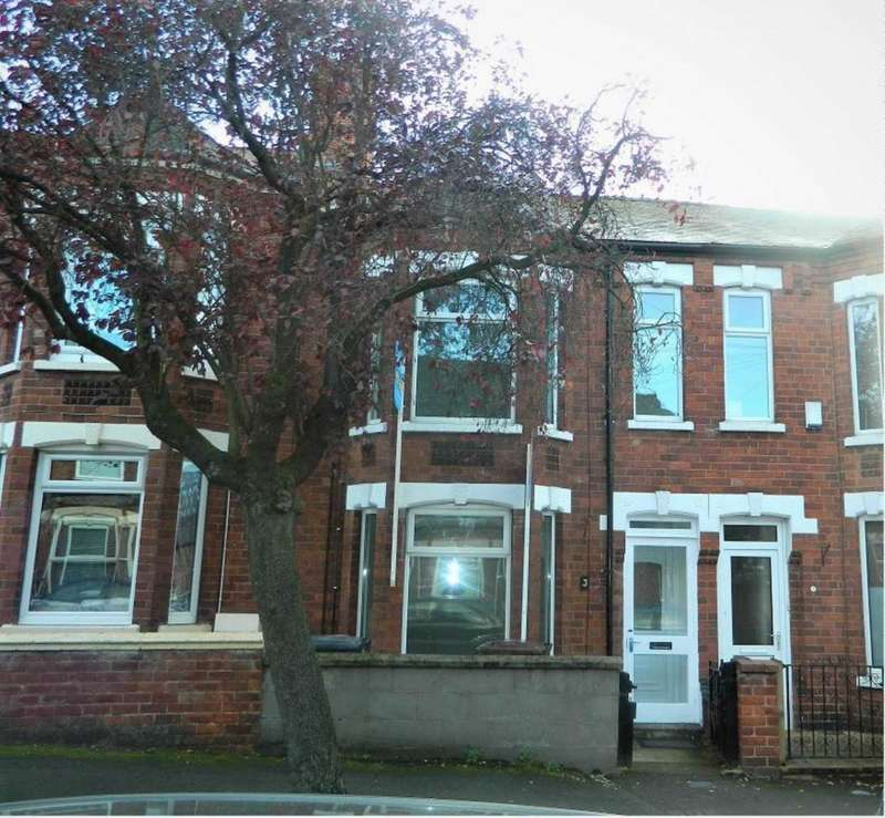3 Bedrooms Terraced House for sale in Off West Parade / Carholme Road - 3 Whitehall Grove, Lincoln, LN1 1PG