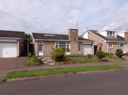 3 Bedrooms Bungalow for sale in Rosemary Drive, Bromham, Bedford, Bedfordshire