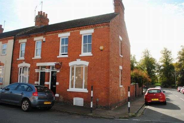 2 Bedrooms End Of Terrace House for sale in Washington Street, Kingsthorpe Village, Northampton NN2 6NN