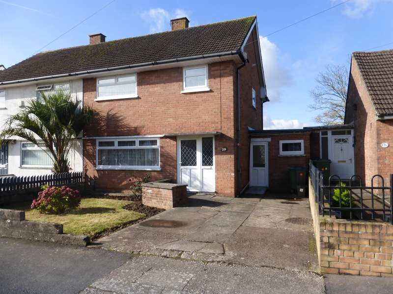3 Bedrooms Semi Detached House for sale in Weston Road, Llanrumney, Cardiff