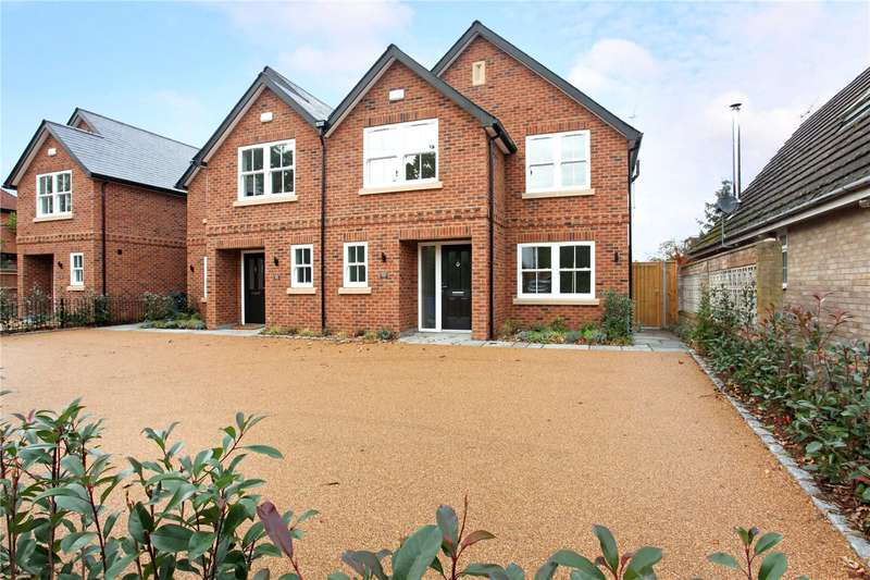 4 Bedrooms Semi Detached House for sale in Brachen House, Hatch Lane, Windsor, Berkshire, SL4