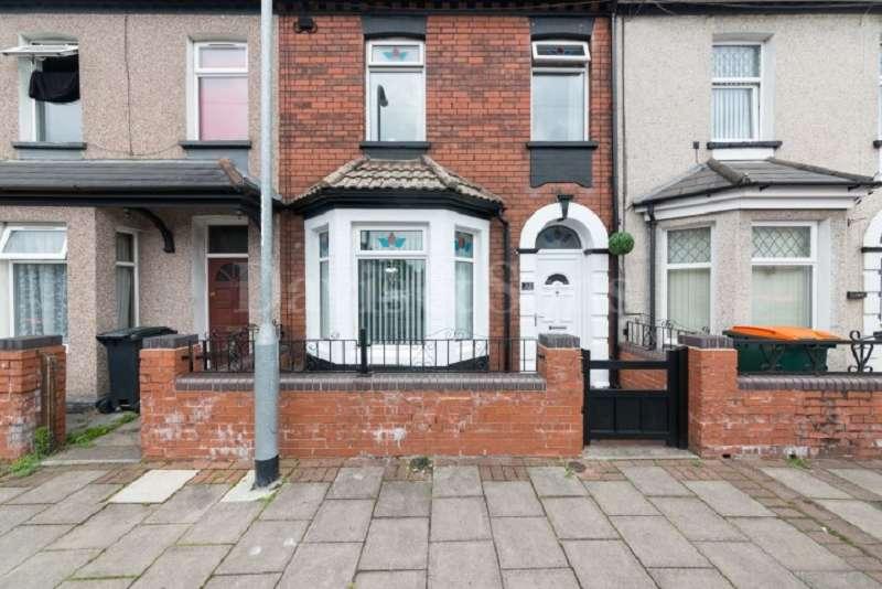 2 Bedrooms Terraced House for sale in Halstead Street, Off Corporation Road , Newport. NP19 0EN