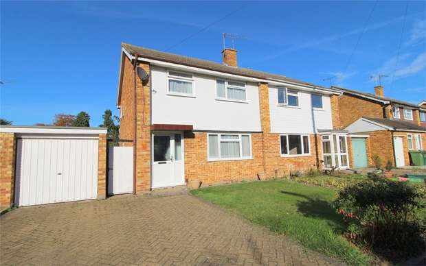 3 Bedrooms Semi Detached House for sale in Jordans Close, Stanwell, Middlesex