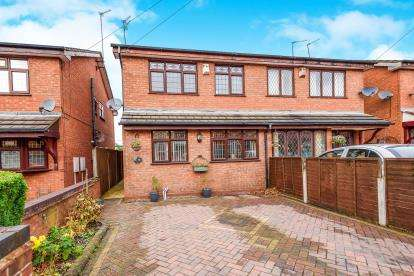 3 Bedrooms Semi Detached House for sale in Walsingham Street, Chuckery, Walsall