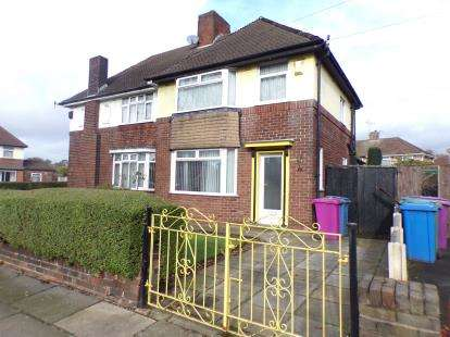 3 Bedrooms Semi Detached House for sale in Hillfoot Avenue, Liverpool, Merseyside, L25