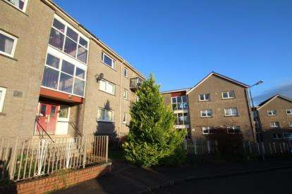 3 Bedrooms Flat for sale in Scott's Place, Airdrie, North Lanarkshire