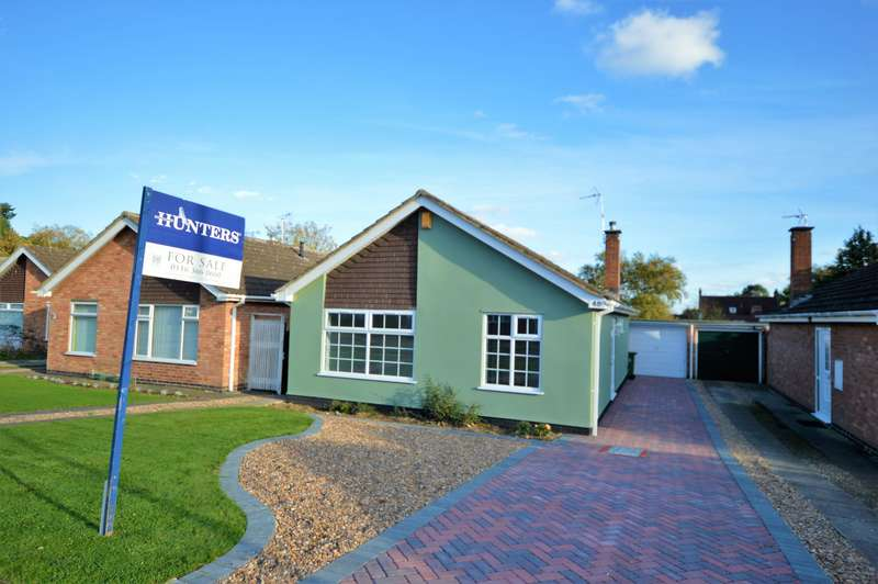 2 Bedrooms Detached Bungalow for sale in Carlton Avenue, Narborough, Leicester, LE19 2DE