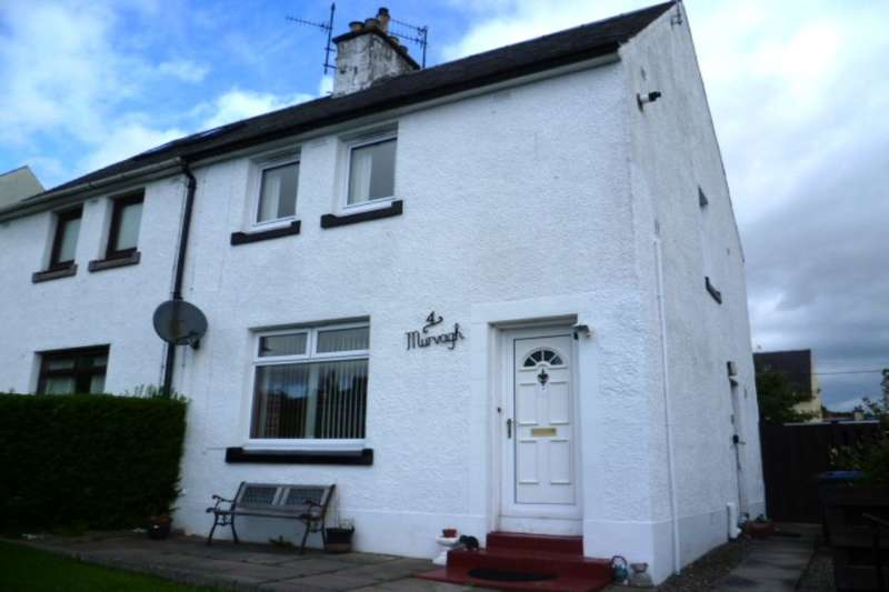 2 Bedrooms Semi Detached House for sale in Croftnappoch Place, Crieff, PH7
