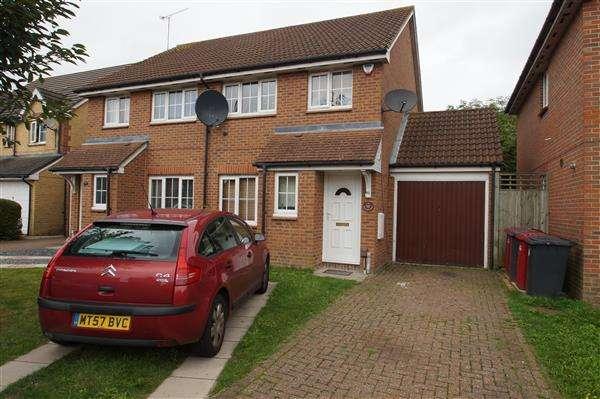 3 Bedrooms Semi Detached House for sale in Moor Furlong, Slough, Cippenham