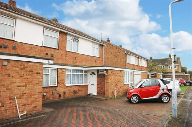 3 Bedrooms Semi Detached House for sale in Pennine Way, Harlington, Hayes, Greater London
