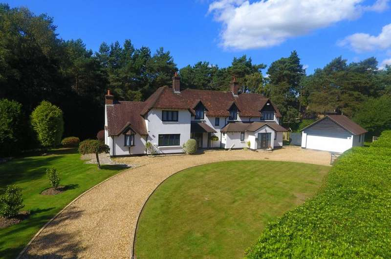 4 Bedrooms Detached House for sale in Davids Lane, Ringwood, BH24 2AW