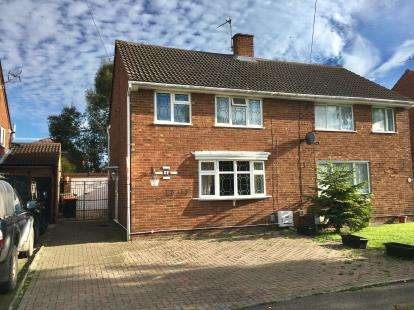 3 Bedrooms Semi Detached House for sale in Cromwell Road, Barton - Le - Clay, Bedford, Bedfordshire