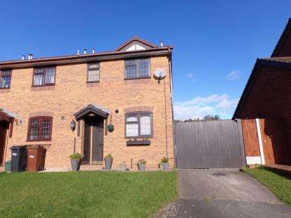 2 Bedrooms End Of Terrace House for sale in Ffordd Y Glyn, Greenfield, Holywell, Flintshire, CH8