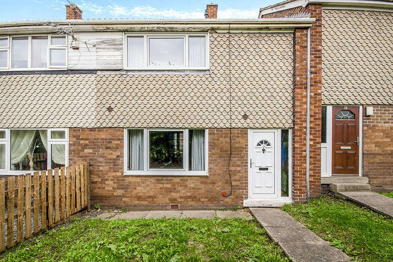 2 Bedrooms Terraced House for sale in Thackeray Walk, Knottingley, WF11