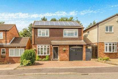 4 Bedrooms Detached House for sale in Ridgeley Close, Woodloes Park, Warwick, Warwickshire
