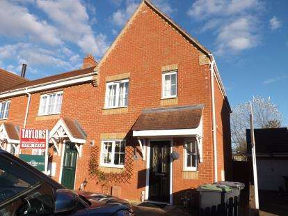 3 Bedrooms End Of Terrace House for sale in Brunel Drive, Biggleswade, Bedfordshire