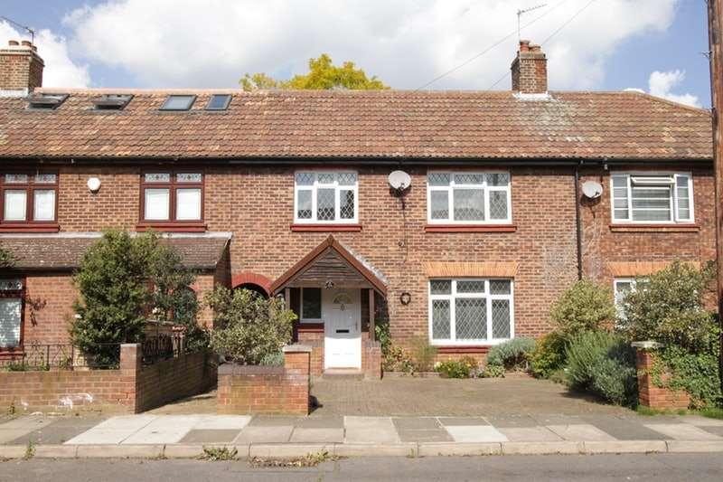 4 Bedrooms Terraced House for sale in Murray Road, Richmond, London, TW10