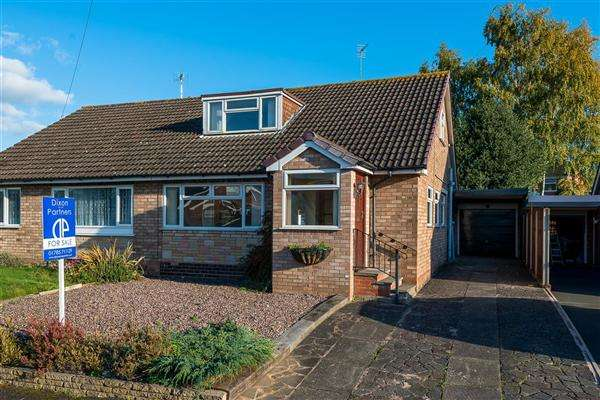 3 Bedrooms Semi Detached Bungalow for sale in Greenways, Penkridge