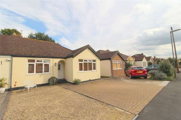 2 Bedrooms Semi Detached Bungalow for sale in Celia Crescent, Ashford, Middlesex