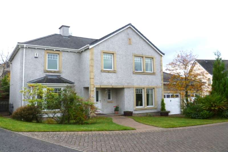 4 Bedrooms Detached House for sale in Brandywell Road, Abernethy, Perth, PH2