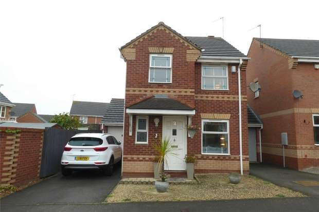 3 Bedrooms Link Detached House for sale in Trentham Close, Maple Park, Nuneaton, Warwickshire