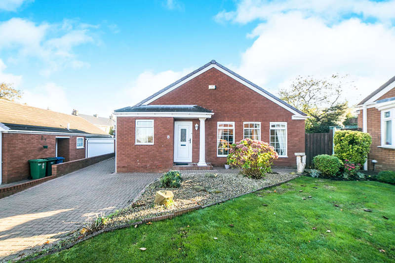 3 Bedrooms Detached Bungalow for sale in Sandringham Drive, Whickham, Newcastle Upon Tyne, NE16