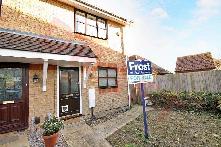 2 Bedrooms End Of Terrace House for sale in Pacific Close, Feltham, TW14