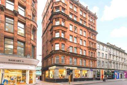 2 Bedrooms Flat for sale in Queen Street, Merchant City