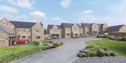 5 Bedrooms Detached House for sale in Huthwaite Court, Thurgoland, Sheffield