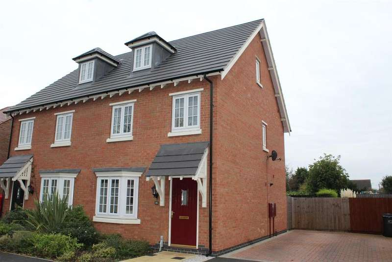 3 Bedrooms Semi Detached House for sale in Charlotte Way, Peterborough