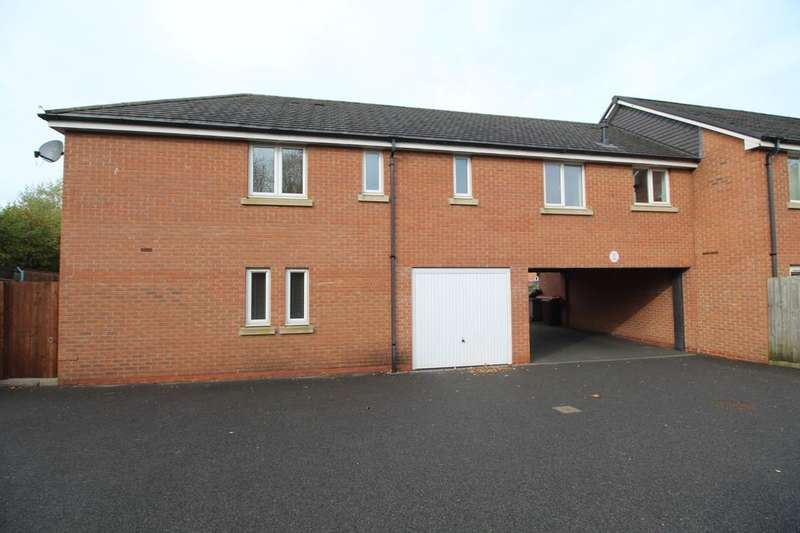 2 Bedrooms Flat for sale in Whitegate Grove, Stoke-On-Trent, ST3