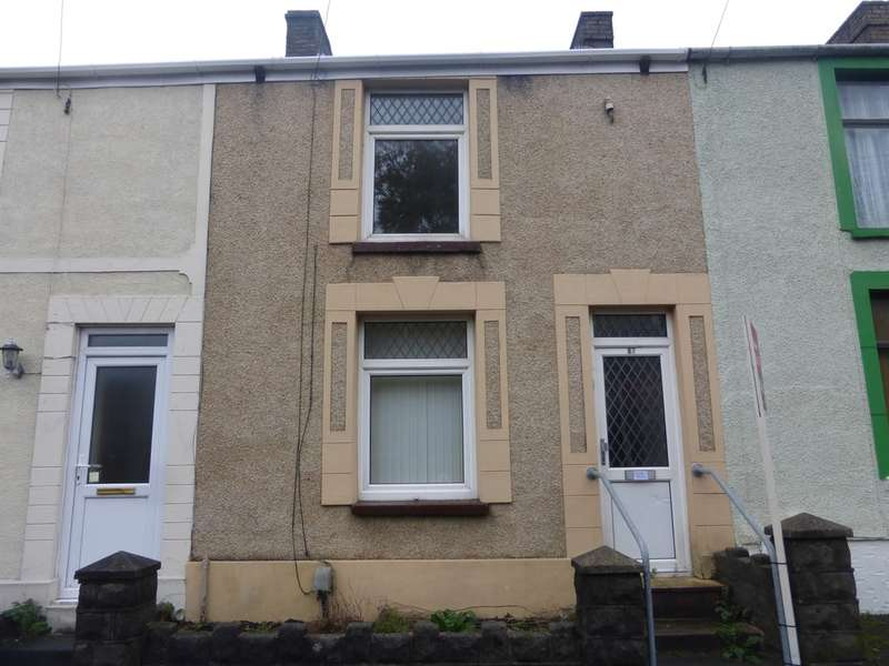 2 Bedrooms Terraced House for sale in Middle Road, Cwmbwrla, Swansea