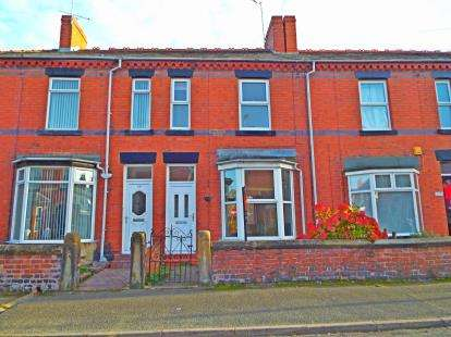 3 Bedrooms Terraced House for sale in Cunliffe Street, Wrexham, LL11