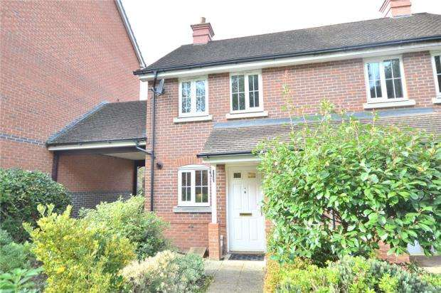 2 Bedrooms End Of Terrace House for sale in Elvetham Rise, Chineham, Basingstoke