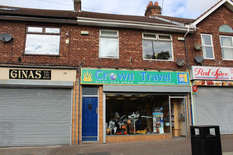 1 Bedroom Office Commercial for sale in Booker Avenue Aigburth L18